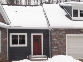 snow and ice can be hard on gutters. let us inspect and repair your gutters